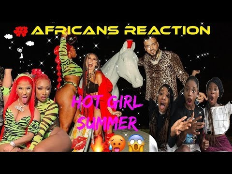 Megan Thee Stallion - Hot Girl Summer ft. Nicki Minaj & Ty Dolla $ign [Official Video] AGA Reaction.