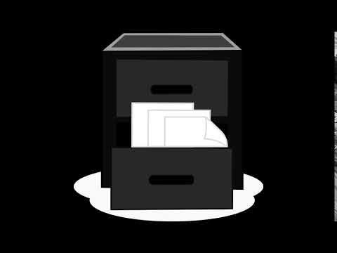 Opening And Closing File Cabinet Drawers - ROYALTY FREE SOUND EFFECT