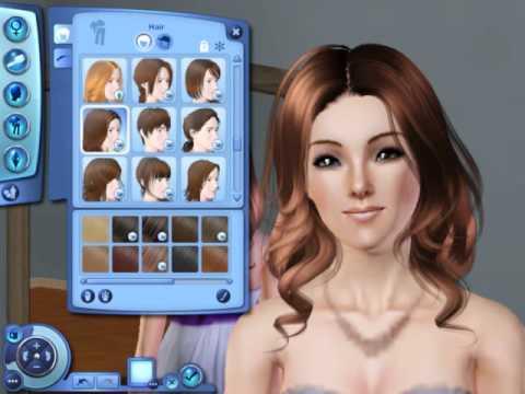 The Sims 3 My Cc Hair Youtube