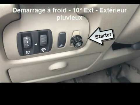 Starter D 233 Marrage 224 Froid Pour Ethanol E85 Youtube