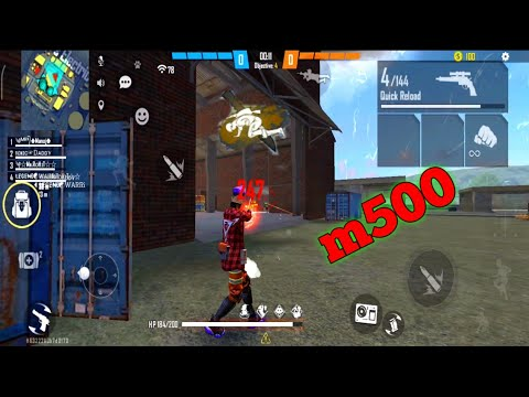 Download Free Fire Clash Squad Ranked | M500 Op Headshot | Garena Free Fire - CS Renked | Take And Gaming