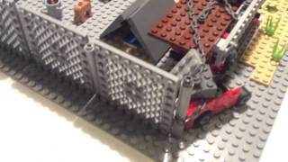 Лего база от зомби (часть 1)