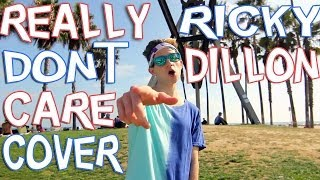 REALLY DON'T CARE - DEMI LOVATO (COVER BY RICKY DILLON) MUSIC VIDEO thumbnail
