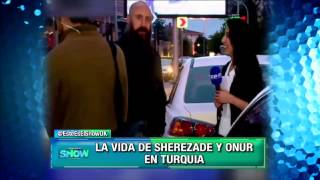 Este es el show - Onur interceptado por una periodista en la calle