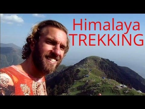 Awesome Hike in the Himalayas of India (Mcleod Ganj & Dharamsala)