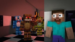Monster School : FNAF ULTIMATE CHALLENGE - Minecraft Animation
