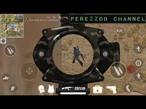 Battle Royale 3D   Warrior63 android game first look gameplay español