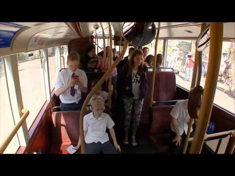Top Gear - James May chase away some children