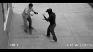 Bladder fail - guy gets mugged and pees!! thumbnail