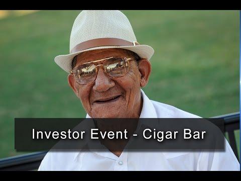 Investor Event - Cigar Bar