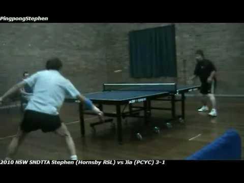 2010 NSW SNDTTA Autumn League Tournament, Stephen Tai (Hornsby RSL) vs Jia (Hornsby PCYC)