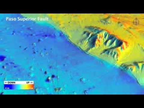 El Mayor--Cucapah Earthquake Revealed by Differential LIDAR.flv