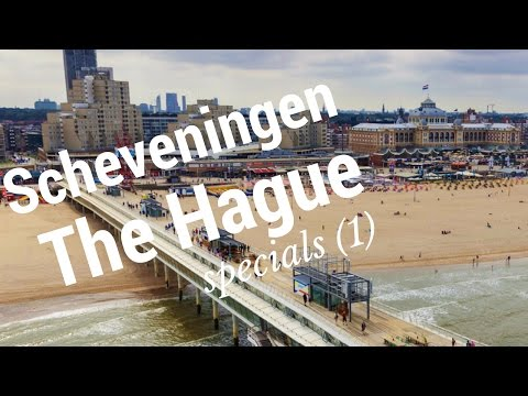 Scheveningen.. The Hague (Den Haag), The Netherlands (1/10) Seaside Resort Tour