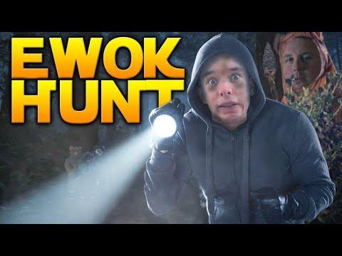 EWOKS ARE SCARY: Ewok Hunt Gameplay /w Westie - Star Wars Battlefront 2