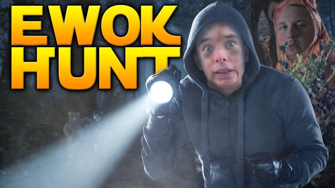 Ewoks Are Scary Ewok Hunt Gameplay W Westie Star Wars