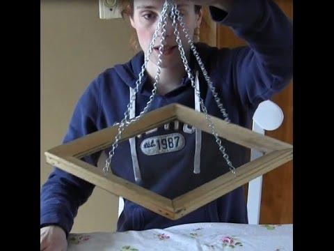 Easy Craft DIY Picture Frame Birdfeeder