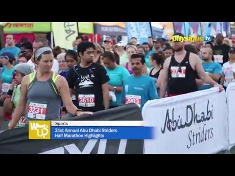 31st Annual Abu Dhabi Striders Half Marathon Highlights