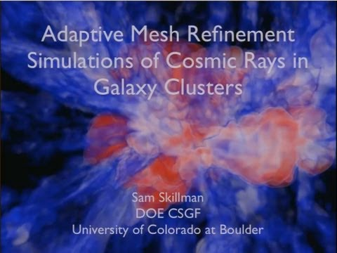 DOE CSGF 2013: AMR Simulations of Cosmic Ray Electrons in Clusters of Galaxies