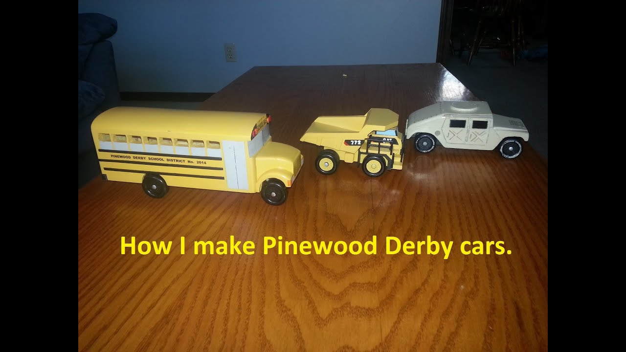 Pinewood Derby  YouTube