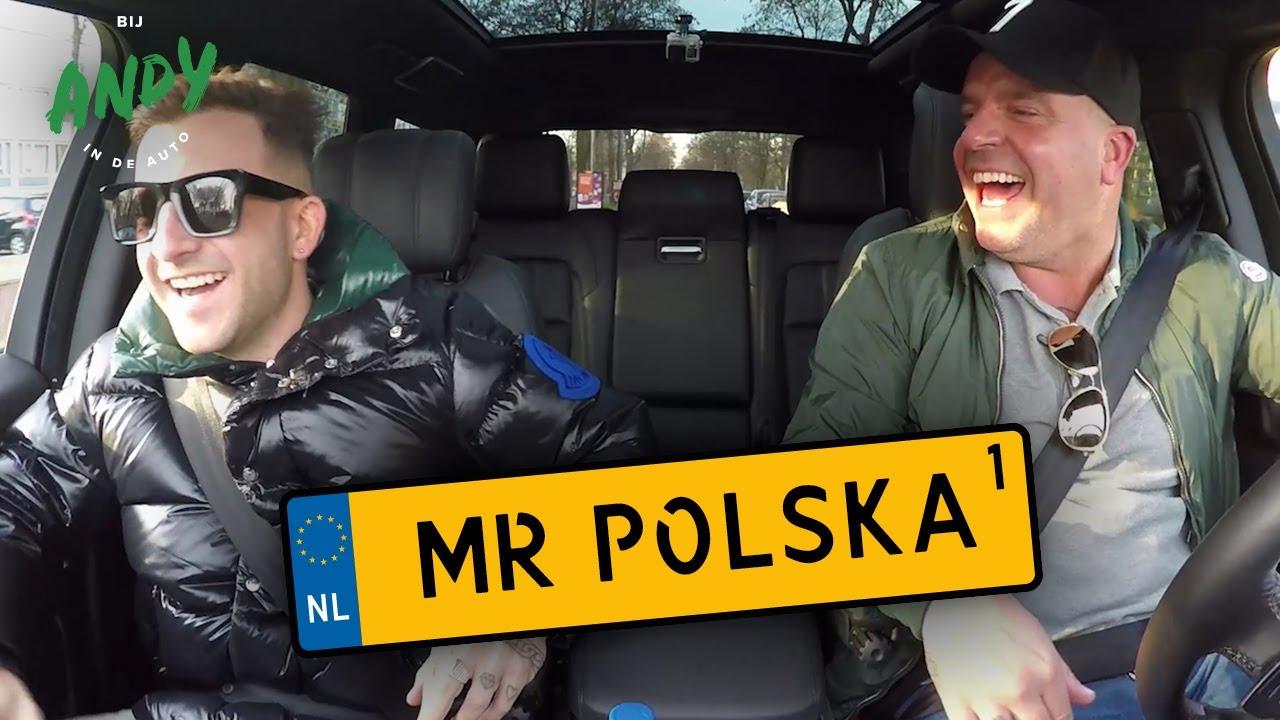 Mr. Polska deel 1 - Bij Andy in de auto