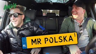 Mr. Polska deel 1 - Bij Andy in de auto