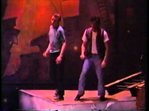(2) When You're A Jet, West Side Story, Stagecrafters Community Theater,  1990