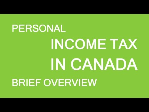 Personal Taxes In Canada. Brief Overview