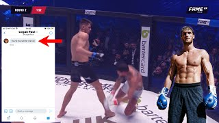 Why Logan Paul's scared... (JMX Full MMA Fight)