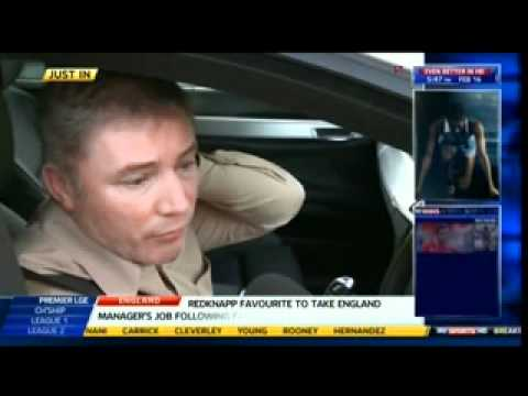Ally McCoist Interview With Sky Sports Gerry McCulloch