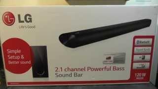 LG NB2540 SoundBar - Unboxing & first look