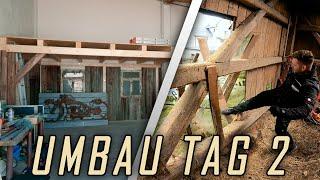 EDELWEISS | UMBAU - Wir reißen eine Scheune ab!