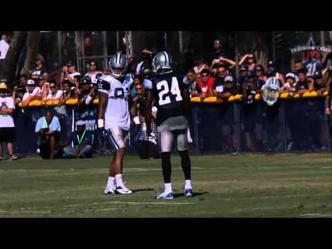 Terrance Williams and Morris Claiborne get heated