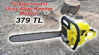 Türkiye'nin en ucuz ağaç kesme motoru Federal Power inceleme 379 TL