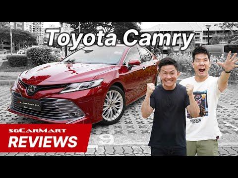 2019 Toyota Camry Singapore   sgCarMart Reviews