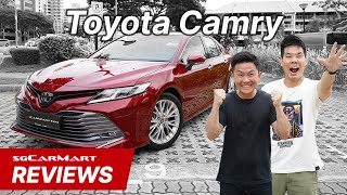 2019 Toyota Camry Singapore | sgCarMart Reviews