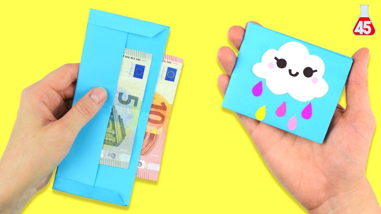 come fare portafoglio origami lavoretti per bambini