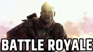 BATTLE ROYALE GAMEPLAY BATTLEFIELD 5  BATTLEFIELD V BATTLEROYALE