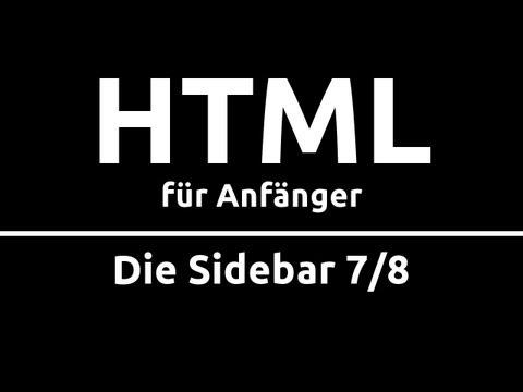 HTML Crashkurs für