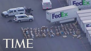 Second Bomb Found At Texas FedEx Facility: Here's The Latest On The Austin Package Bombings | TIME thumbnail
