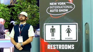 homepage tile video photo for Bathroom Review: New York International Auto Show 2019