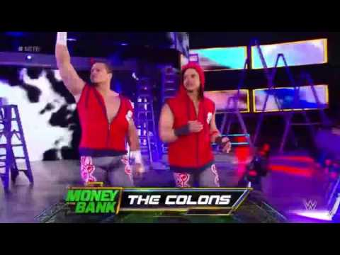 The Colons Entrance - Money In The Bank 6/18/2017