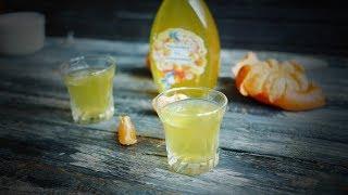 Мандариновая настойка на корках с соком - простой рецепт