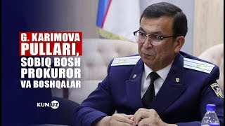 BOSH PROKURATURA KORRUPSIYA MASALALARIGA OID YIG'ILISH O'TKAZDI