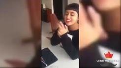 Vean esta Chica imitando cantantes famosos video Viral