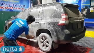 Rửa xe không chạm Nerta tại Hà Nội