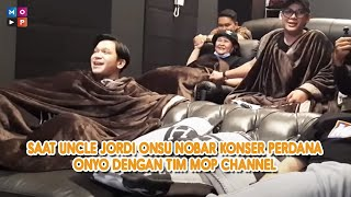Download lagu CUAP CUAP - SAAT UNCLE JORDI ONSU NOBAR KONSER PERDANA ONYO DENGAN TIM MOP CHANNEL