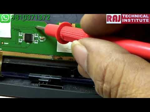 LCD Led TV Penal Repair Raj Technical Institute