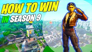 HOW TO WIN YOUR 1st GAME IN FORTNITE SEASON 9! (Battle Royale - FREE Umbrella Item!)