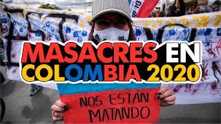 Masacres en Colombia 2020