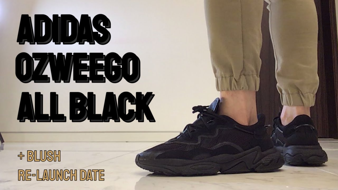 Manual Notorio inundar  Adidas Ozweego All Black Onfeet Review + Blush release date - YouTube